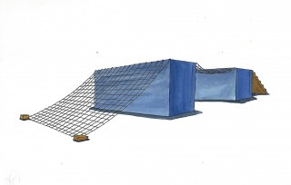 9 Container Kletternetz